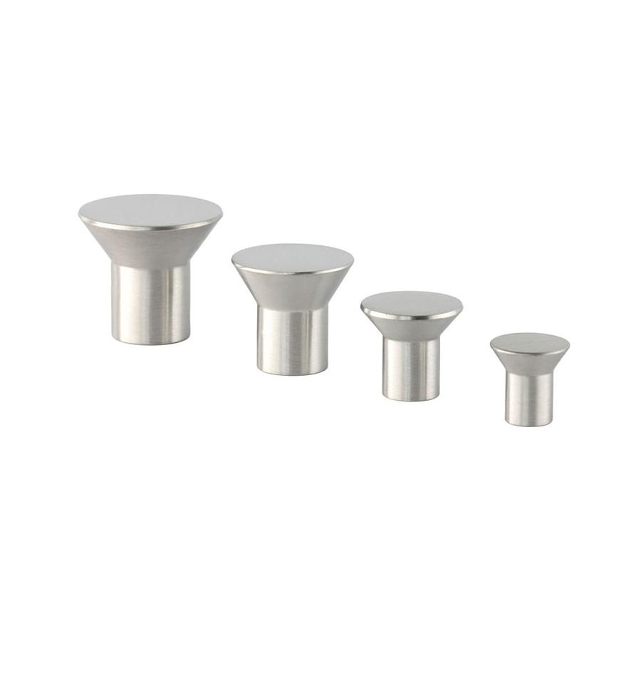 Pomo acero inoxidable ref 1294 fabricantes de herrajes cocina de acero inoxidable y lat n - Herrajes de acero inoxidable ...