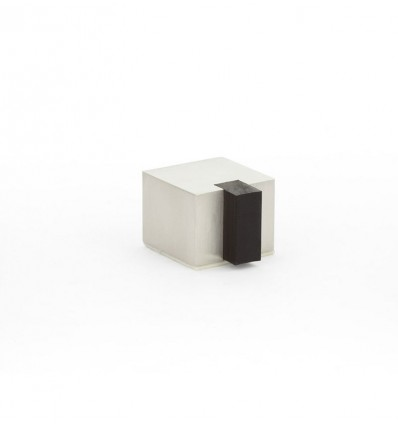 Tope de puerta adhesivo acero inoxidable  (I-197/25-V)